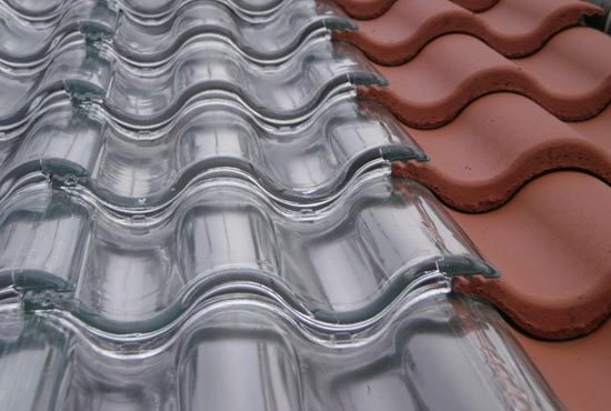 Frosted Solar Glass