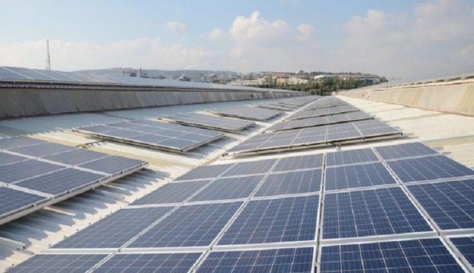 Solar Energy Plant is in Mersin